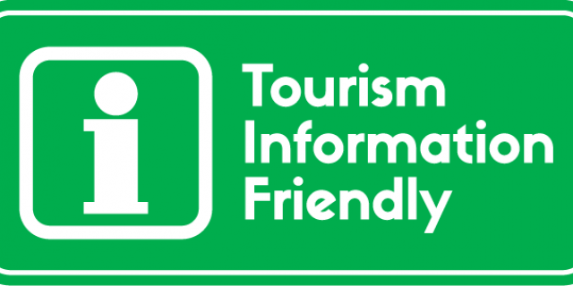 Tourism Friendly sticker