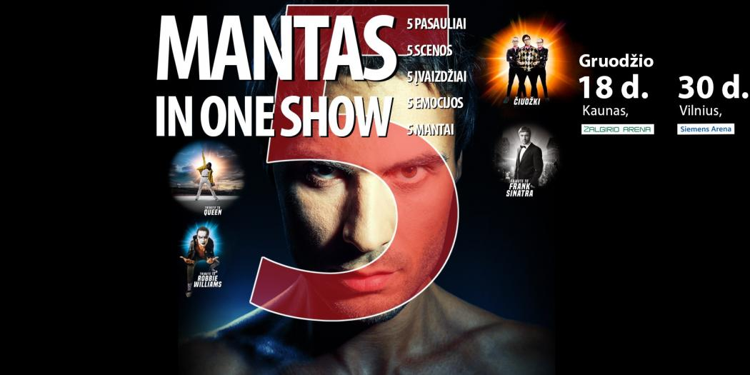 mantas in one show